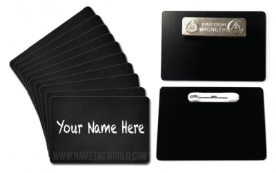 Chalkboard Name Tags – Save Money – Save Plastic