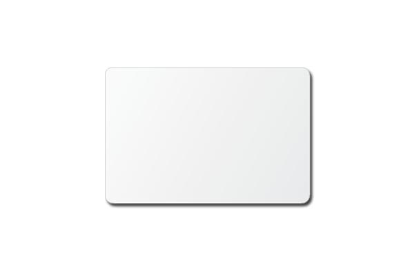 3 x 2 white plastic custom printed name tag name tag world