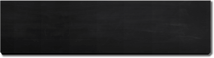 8 x 2 name plate chalkboard blank