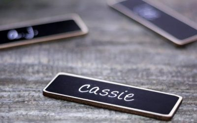 Chalkboard Name Tags, Reusable with a Personal Touch
