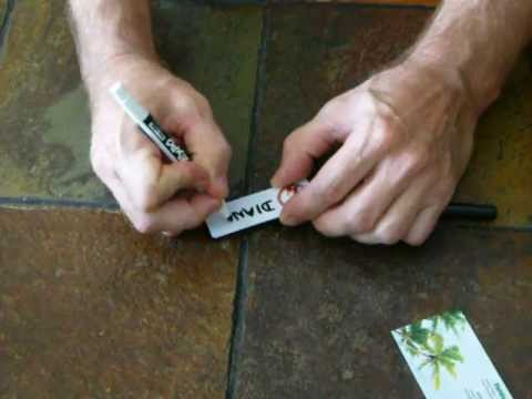 Dry Erase Name Tags, Fun and Reusable