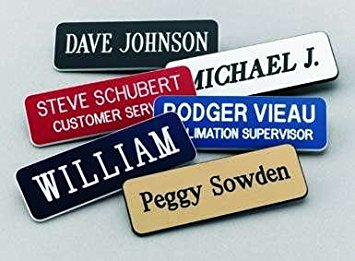 Name Tags Make Employees More Approachable