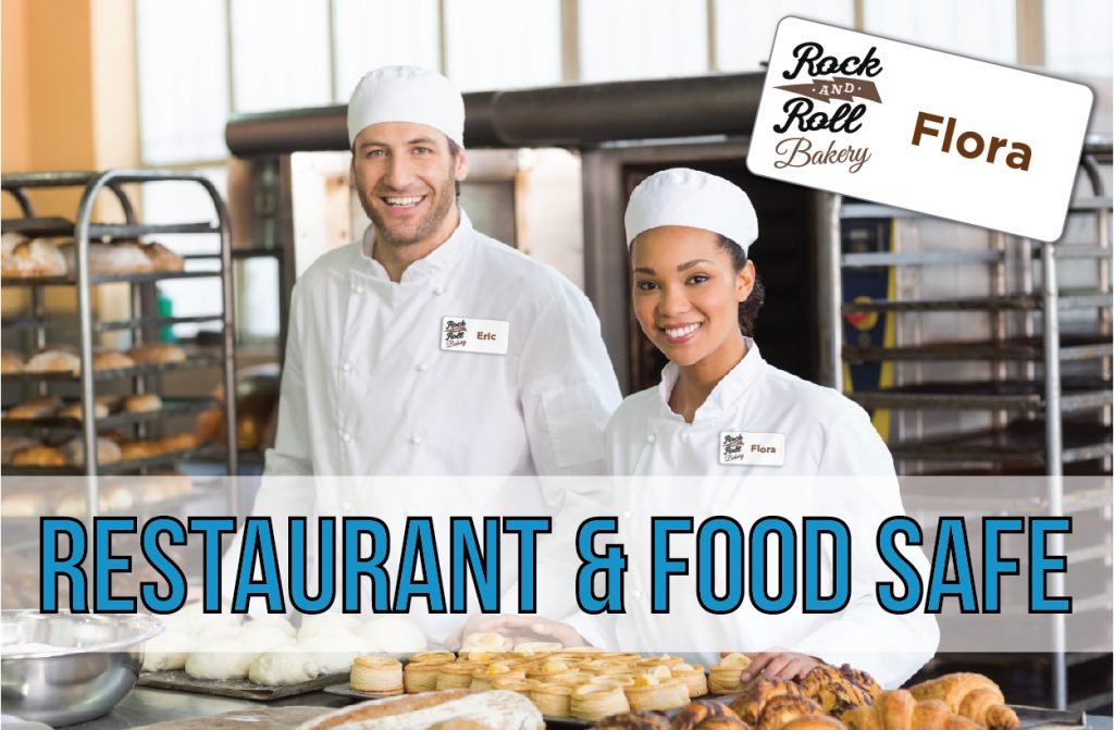 Restaurant Name Tags