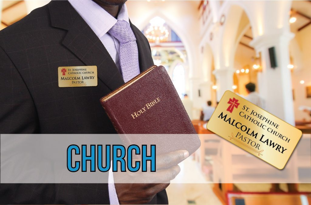 Church Name Tags